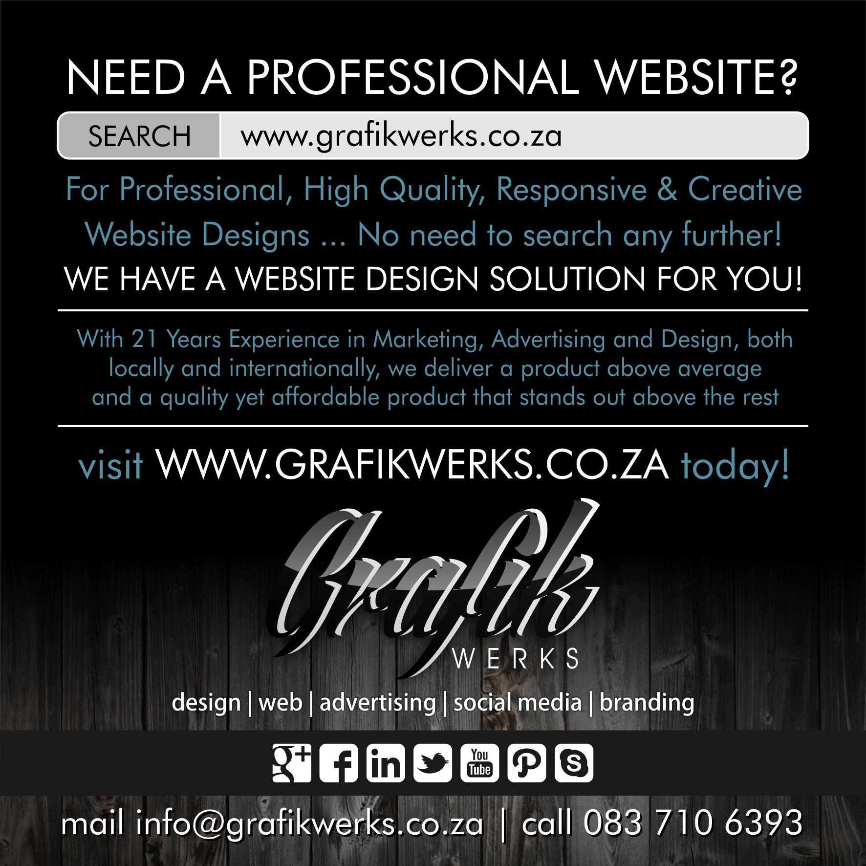 Website Design Company in Nelspruit and Barberton
